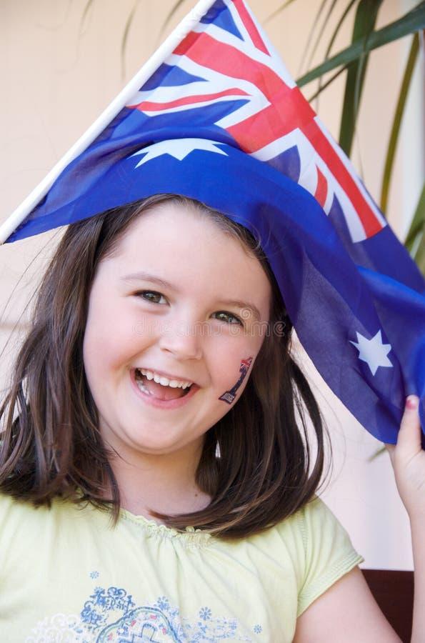 Het vieren Australië Dag stock afbeelding