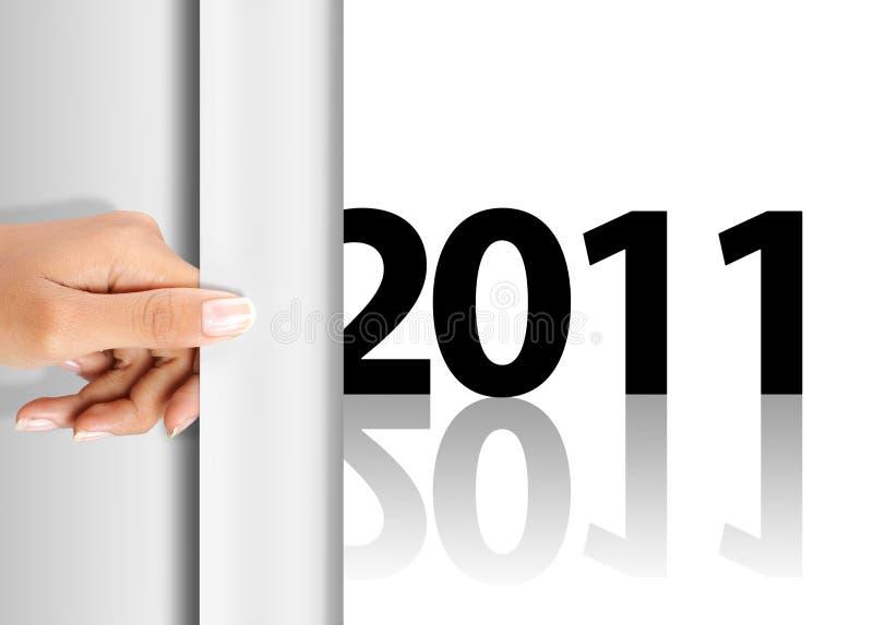 Het vieren van nieuw jaar 2011