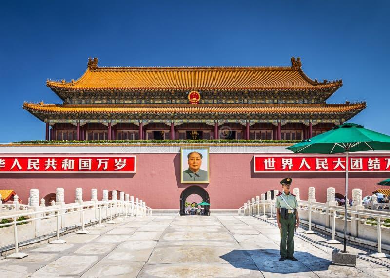 Het Vierkant van Beijing royalty-vrije stock afbeeldingen