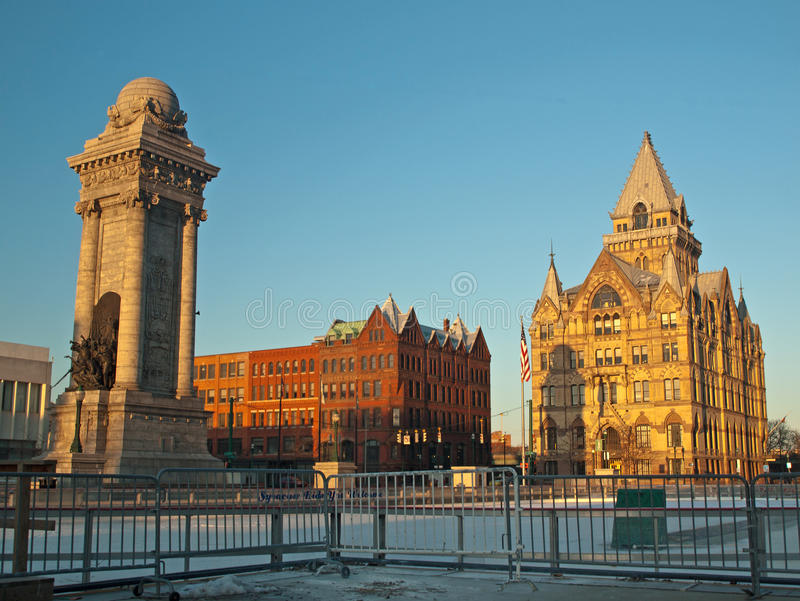 Syracuse, New York royalty-vrije stock afbeeldingen