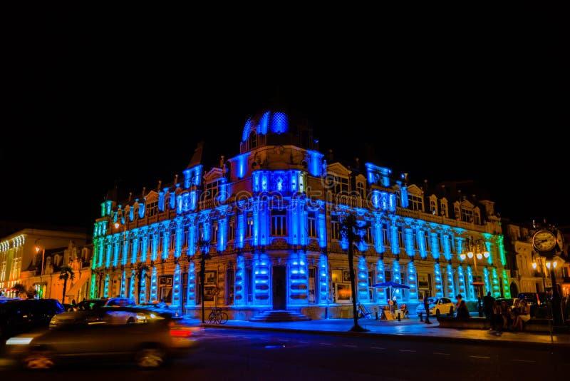 Het Vierkant van Europa is één van de mooiste plaatsen in stad royalty-vrije stock afbeeldingen
