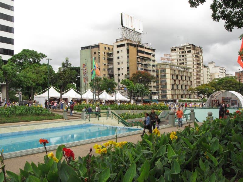 Het vierkant van Frankrijk in Caracas Venezuela stock foto's
