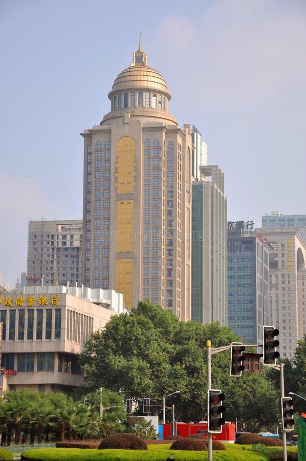 Het Vierkant van Gulou van Nanjing royalty-vrije stock foto