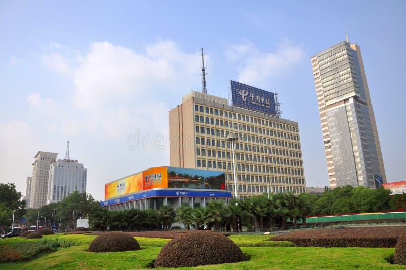 Het Vierkant van Gulou van Nanjing royalty-vrije stock afbeelding