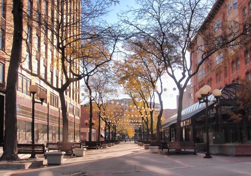 Het Vierkant van Hanover, Syracuse, NY royalty-vrije stock foto