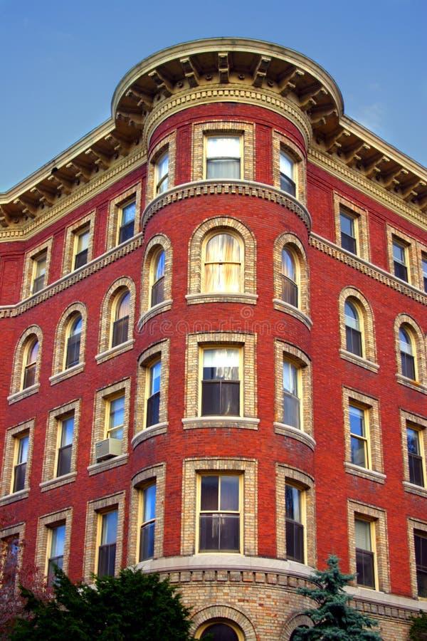 Het Vierkant van Harvard, Cambridge stock foto