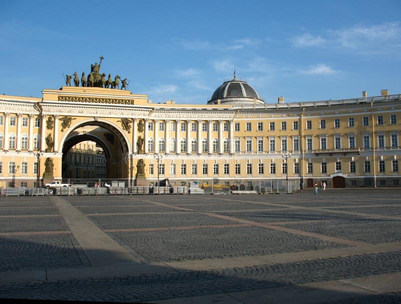 Het vierkant van heilige Petersburg royalty-vrije stock afbeelding