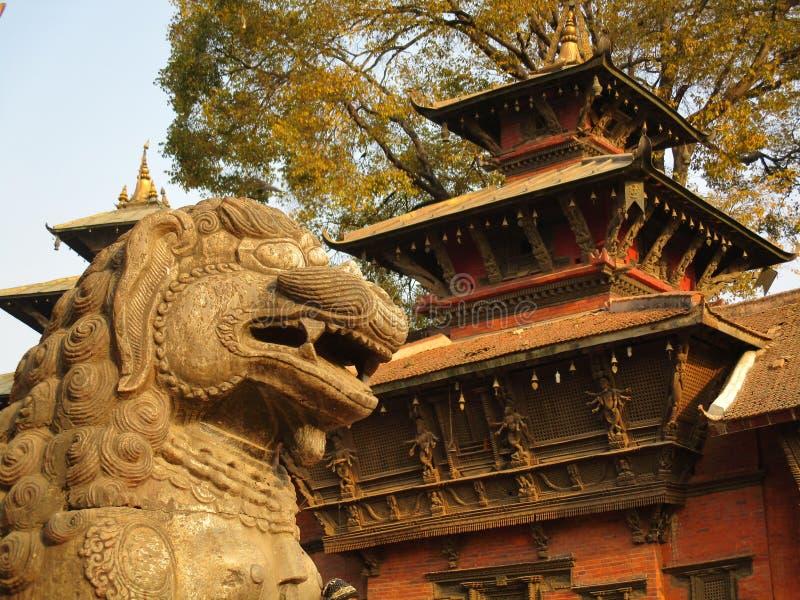 Het Vierkant van Katmandu Durbar royalty-vrije stock foto's