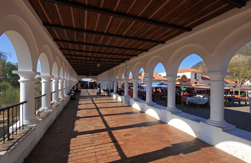 Het vierkant van La Recoleta, Sucre, Bolivië royalty-vrije stock foto