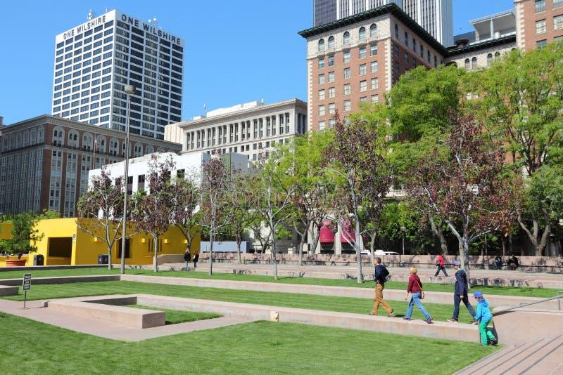 Het Vierkant van Los Angeles Pershing royalty-vrije stock fotografie