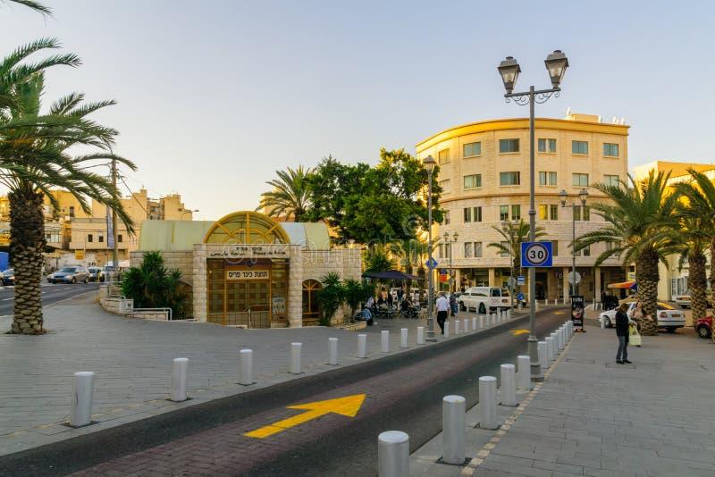 Het vierkant van Parijs, Haifa stock afbeelding