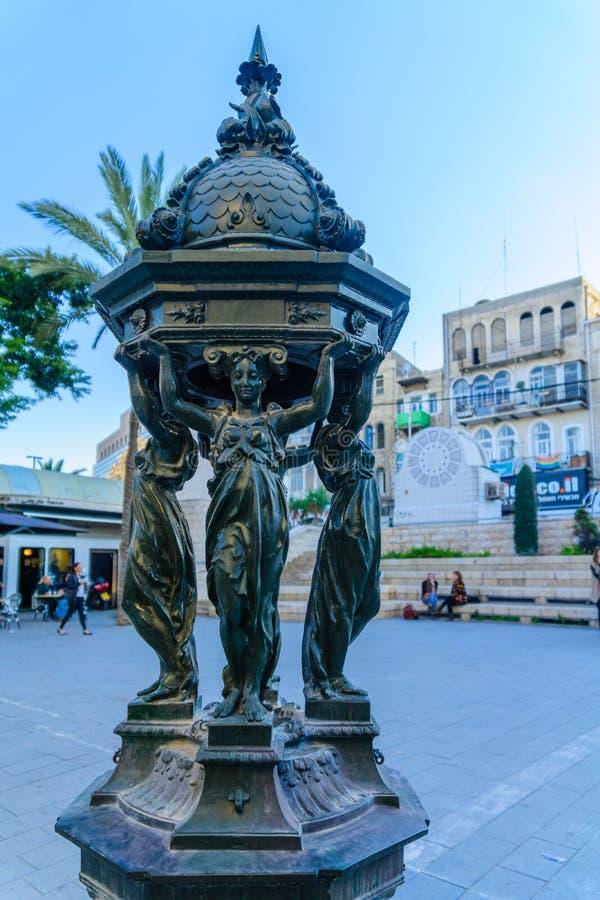 Het vierkant van Parijs, Haifa royalty-vrije stock foto's