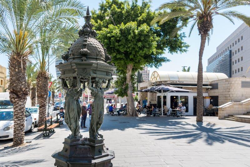 Het Vierkant van Parijs in Haifa royalty-vrije stock foto