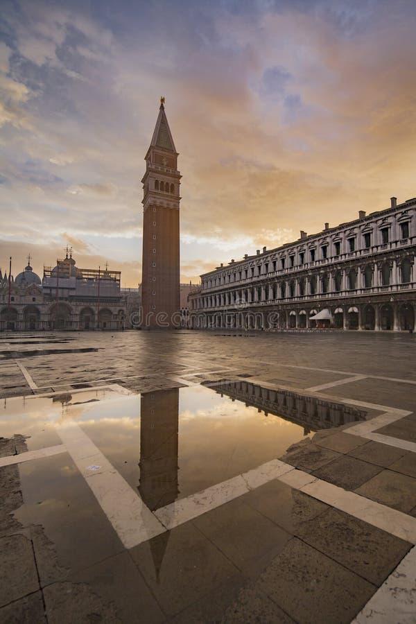 Het vierkant van San Marco stock afbeeldingen