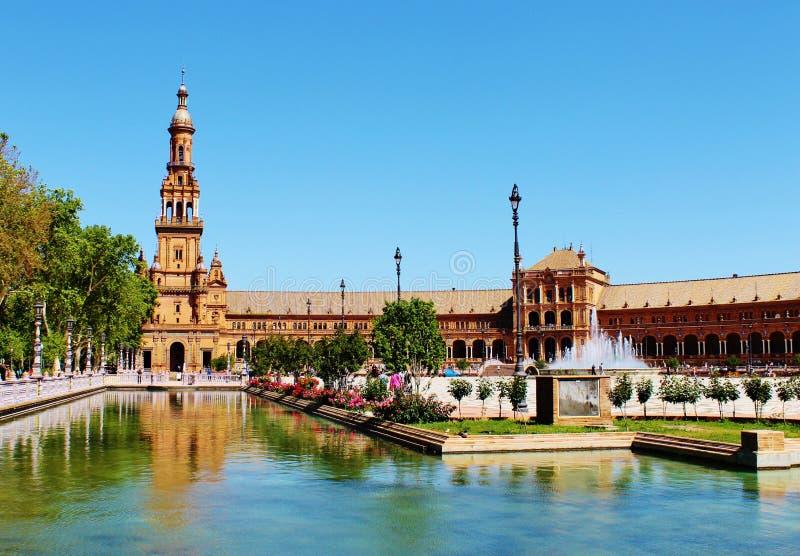 Het Vierkant van Spanje royalty-vrije stock fotografie