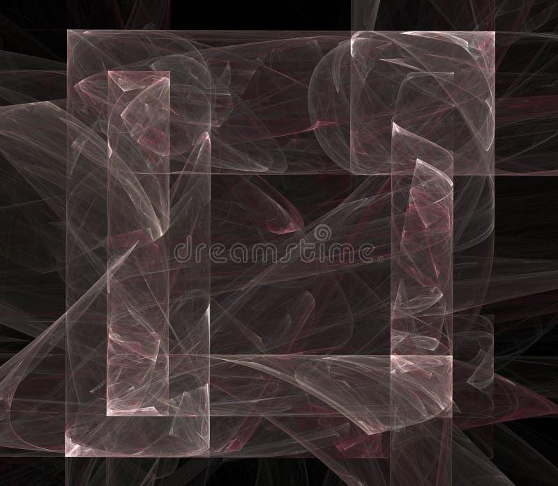 Het Vierkante Ontwerp van de hoge Resolutie voor Af:drukken of Web stock illustratie