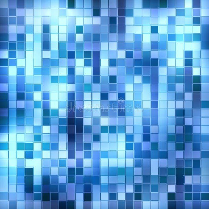 Het vierkante patroon van het glas royalty-vrije illustratie
