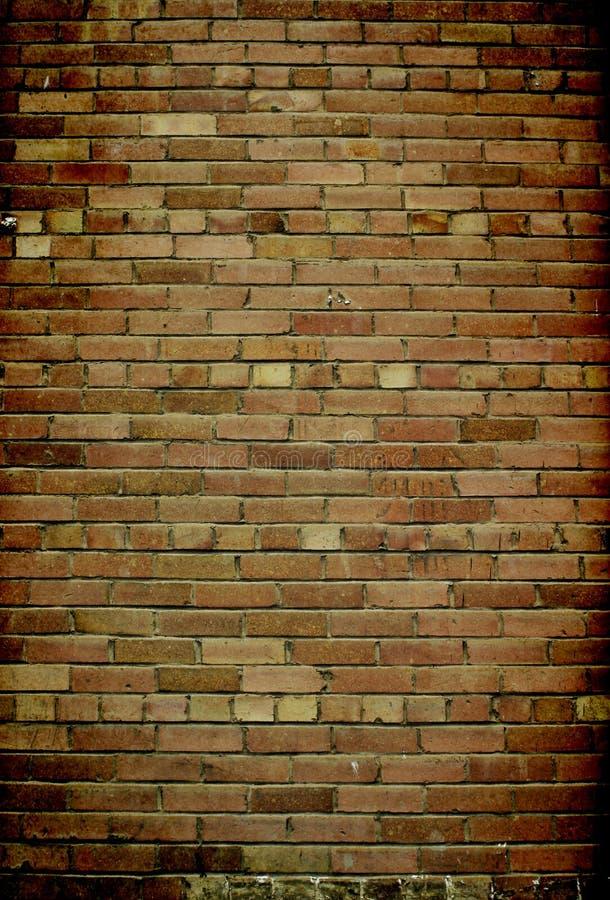 Het Vignet van de Bakstenen muur royalty-vrije stock foto
