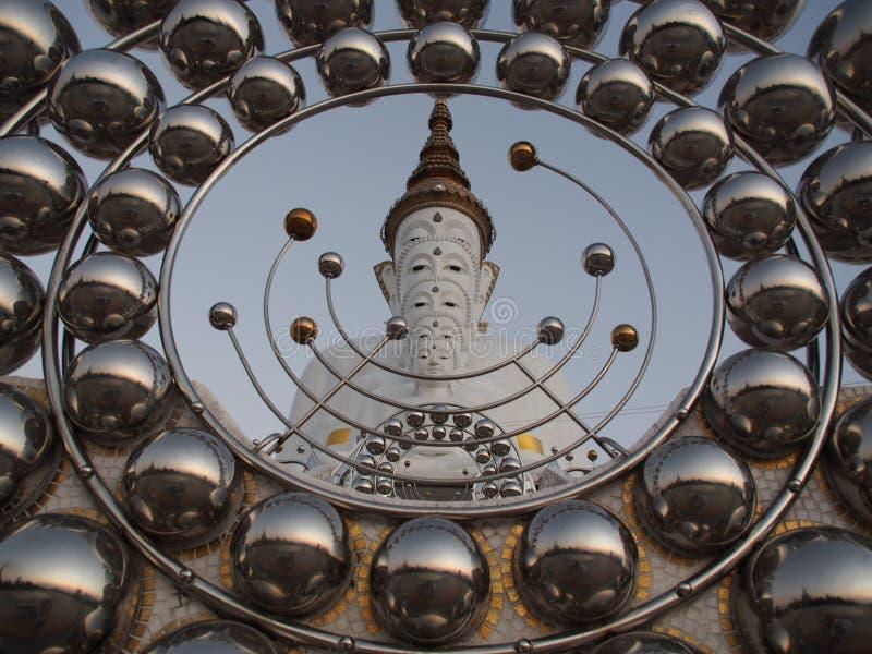 Het vijf Boedha Beeld stock afbeelding
