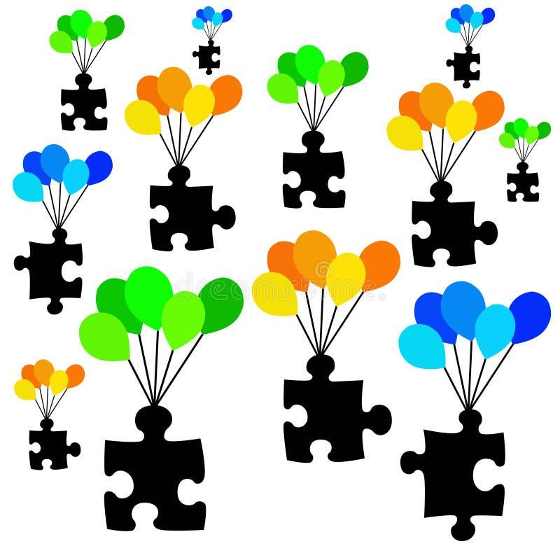Het vinden van oplossingen vector illustratie