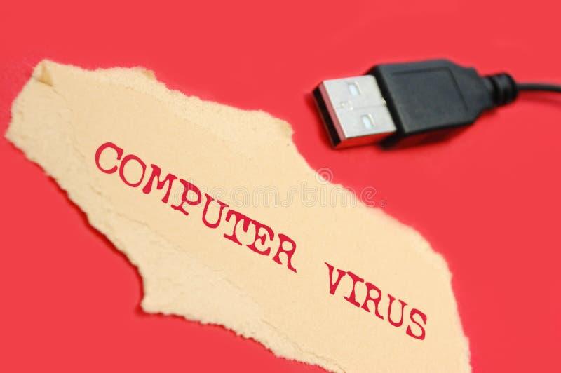 Het virus van de computer royalty-vrije stock afbeeldingen