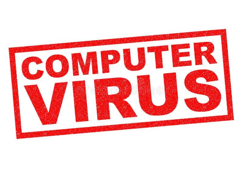 Het virus van de computer vector illustratie