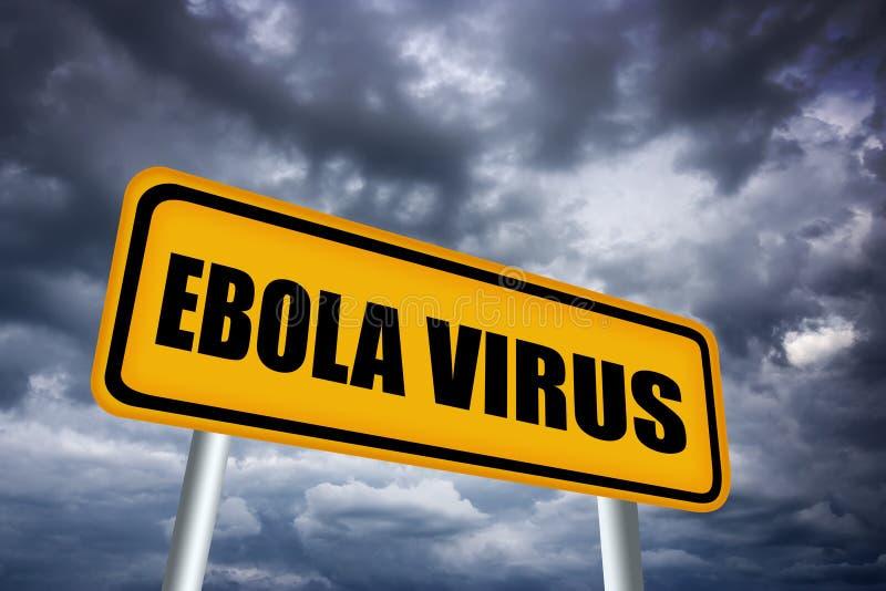 Het virus van Ebola stock illustratie