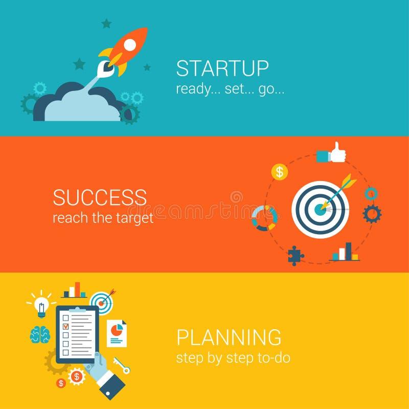 Het vlakke infographic concept van het stijlweb vector illustratie