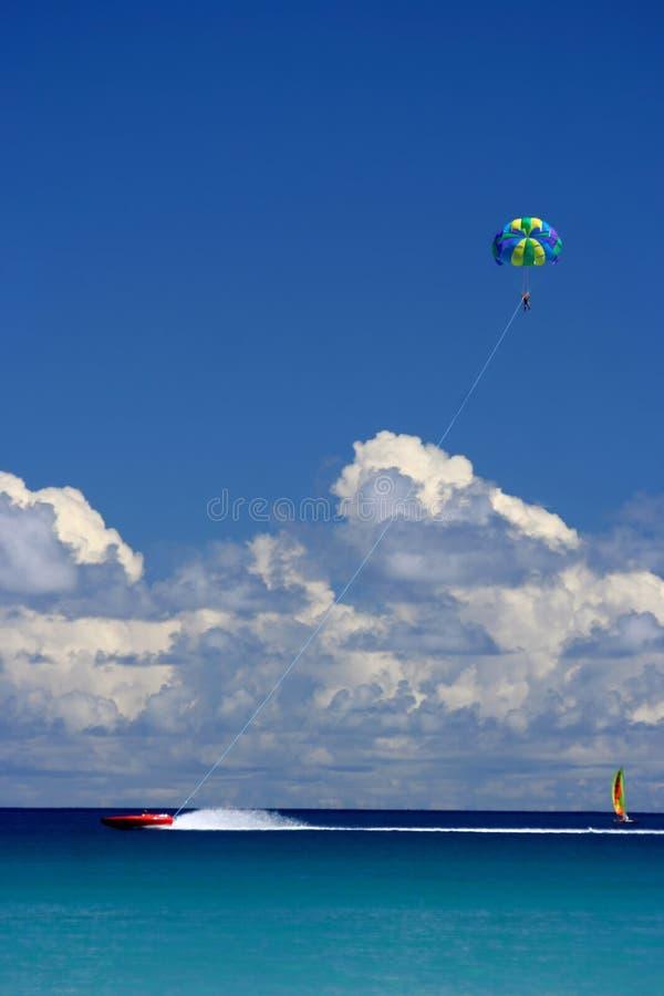 Het vliegen, het varen, het rennen pret royalty-vrije stock fotografie