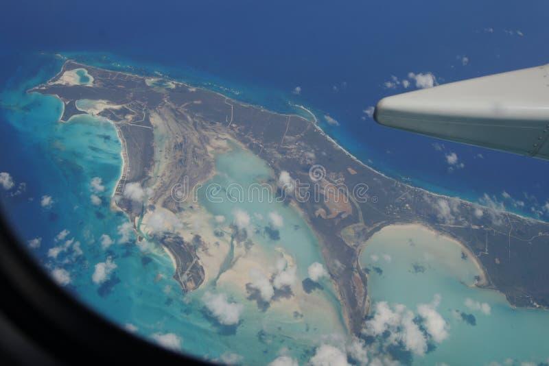 Het vliegen in Puerto Rico royalty-vrije stock afbeelding