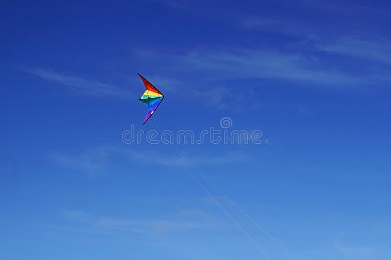 Het Vliegen van de Vlieger stock afbeeldingen