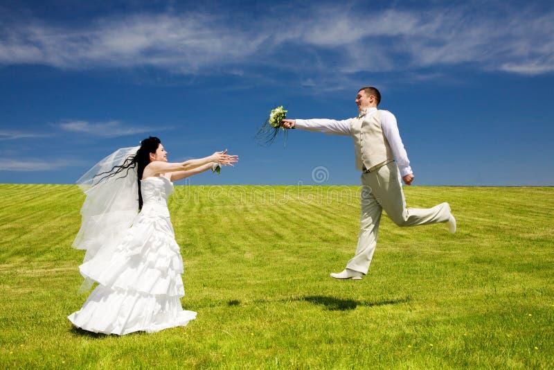 Het vliegen van liefde royalty-vrije stock fotografie