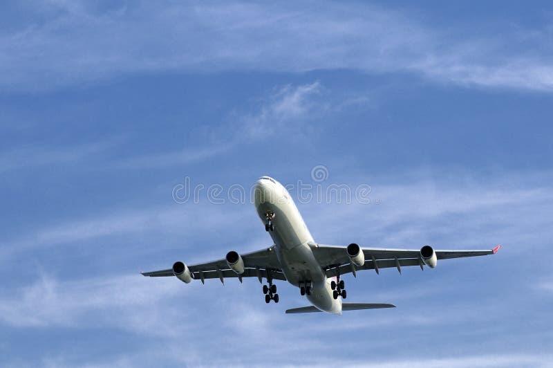 Het vliegtuig van Boeing royalty-vrije stock fotografie