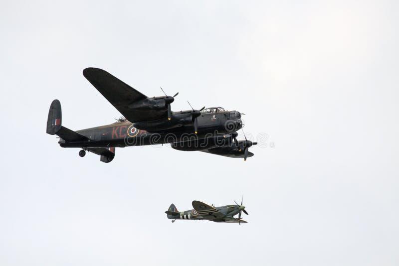 Het vliegtuig van de heethoofdoorlog royalty-vrije stock afbeeldingen