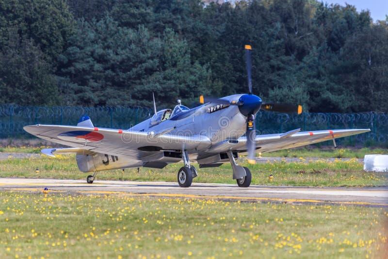 Het vliegtuig van de heethoofdvechter royalty-vrije stock afbeelding