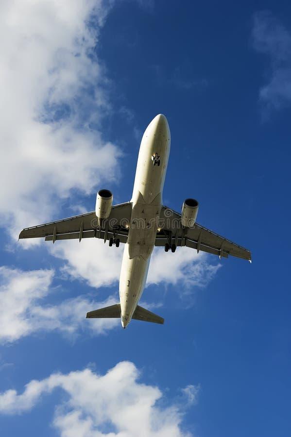 Het vliegtuig van de luchtbus A320-214 stock afbeelding