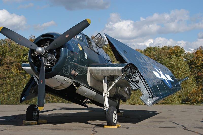 Het Vliegtuig van de marine royalty-vrije stock foto's