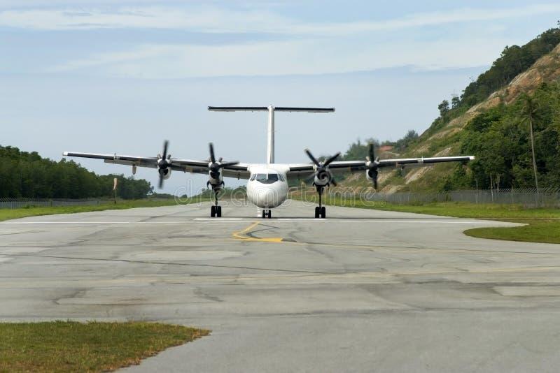Het Vliegtuig van de propeller royalty-vrije stock afbeelding