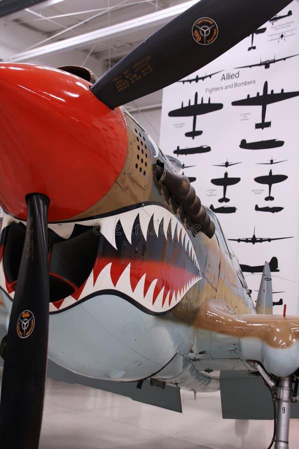 Het vliegtuig van de Wereldoorlog II royalty-vrije stock foto's