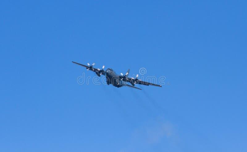Het Vliegtuig van Hercules van de Luchtmacht van RNZAF Nieuw Zeeland C-130H stock fotografie