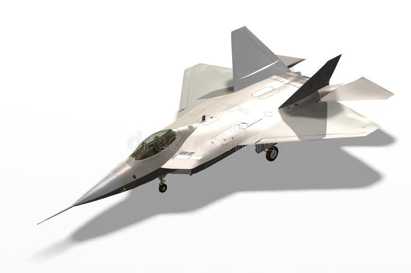 Het vliegtuig van het vliegtuig stock illustratie