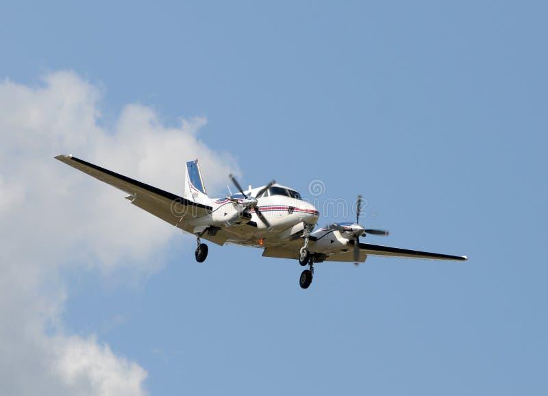 Het vliegtuig van Tirborporp stock afbeeldingen