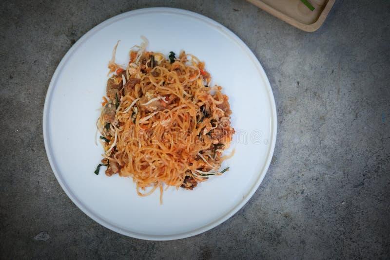Het voedsel heerlijke smaak van 'stootkussen Thaise 'Thailand royalty-vrije stock afbeeldingen