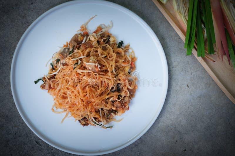 Het voedsel heerlijke smaak van ?stootkussen Thaise ?Thailand royalty-vrije stock afbeelding