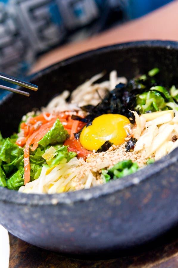 Het voedsel van Bibimbap