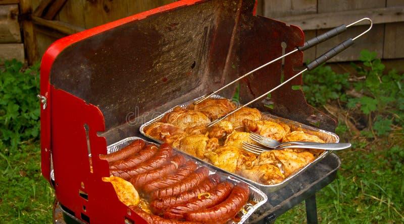 Het voedsel van de grill royalty-vrije stock afbeeldingen