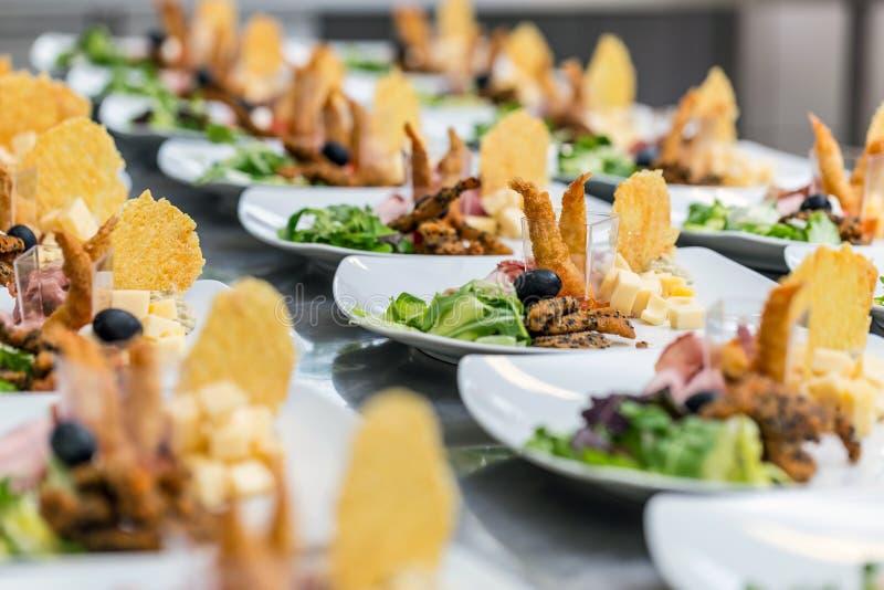 Het voedsel van de luxe stock afbeelding