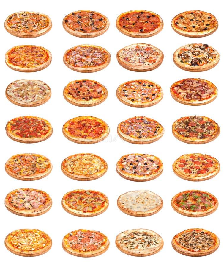 Het voedsel van de pizza