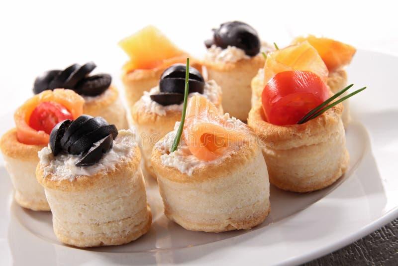Het voedsel van het buffet royalty-vrije stock afbeelding