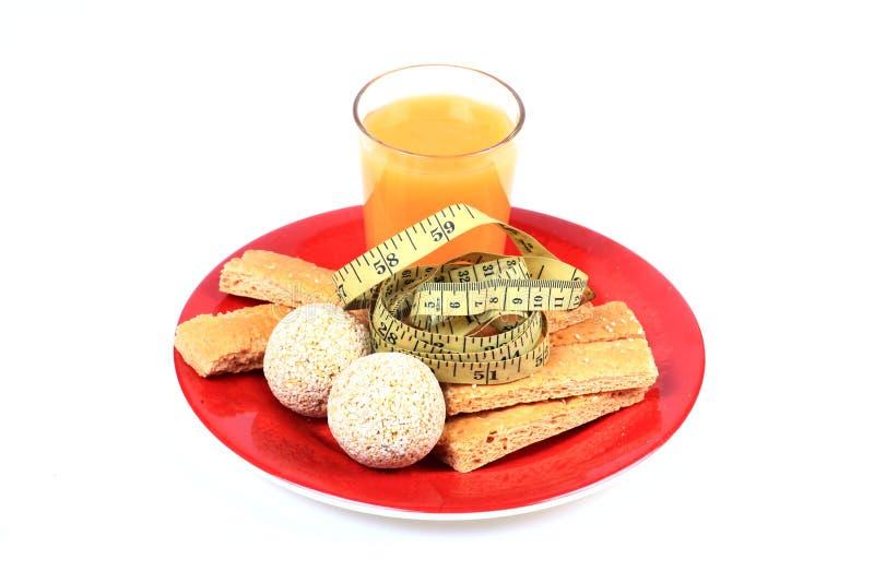 Download Het voedsel van het dieet stock afbeelding. Afbeelding bestaande uit koekjes - 54085789